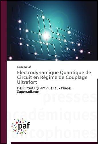 Electrodynamique Quantique Pdf