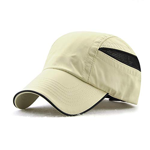 Deportes Sombrero Gorra de para de qin de hat Hombres protección Sombrero GLLH D béisbol Secado Sol Aire Solar Libre para A para rápido Sombreros al xFHZqwER