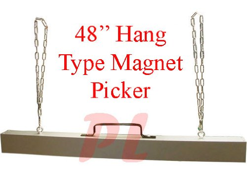 48'' Hang-Type Magnet Sweeper Picker Magnet Bar by Generic