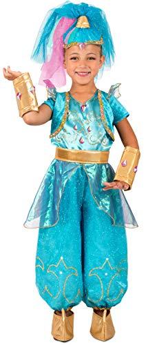 Princess Paradise Shimmer & Shine Shine Costume, Small ()