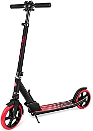 BELEEV Scooters for Kids - Quick-Release Folding System - Front Suspension System + 200mm Big Wheels Foldable