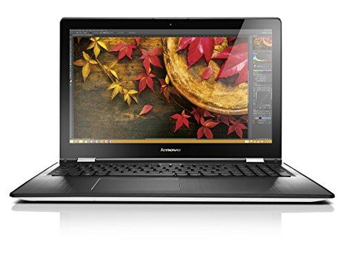 Lenovo YOGA 500 39,6 cm (15,6 Zoll Full HD IPS) Convertible Notebook (Intel Core i5-5200U, 2,7GHz, 8GB RAM, 1000 GB HDD, Intel HD Grafik, Touchscreen, Windows 10) weiß