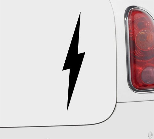 Lightning Bolt - Vinyl Decal - Car Phone Helmet - SELECT SIZE
