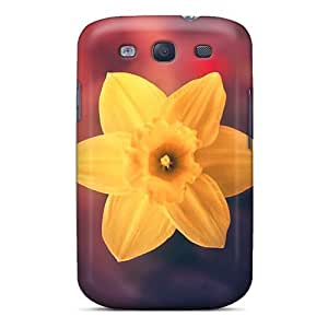 New Yellow Flower Close Up Tpu Skin Case Compatible With Galaxy S3