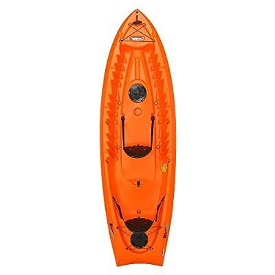 "90537 Lifetime Kokanee Sit-On-Top Kayak, Orange, 10'6"" by Lifetime OUTDOORS"
