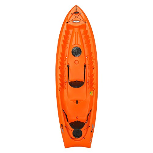 Lifetime Kokanee Sit-On-Top Kayak, Orange, 10'6