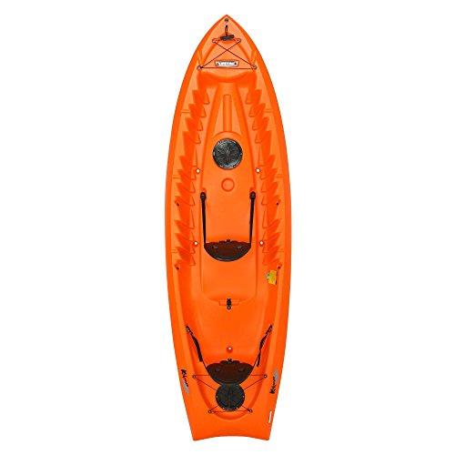 Lifetime Kokanee Sit-On-Top Kayak, Orange, 10'6'' by Lifetime