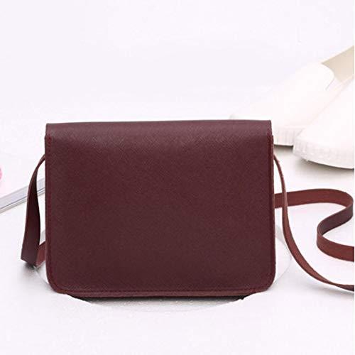 Noir bandoulière Bags Bordeaux s Sac pour Crossbody femme s showsing q0FWn1T