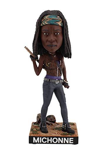 Royal Bobbles The Walking Dead Michonne Bobblehead, Collectible