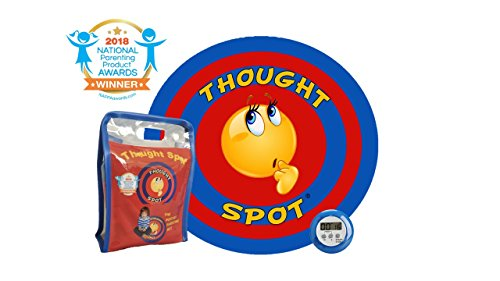 Recyclable Materials (Thought Spot - The Portable Parenting Time Out Mat with Digital Timer- 24 inch Diameter Made from Recyclable Non-Toxic Materials))