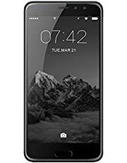 SIM Free Smart Phones, DING DING X9 4G 5.5 inch Ultra narrow HD screen with Android 7.0 MTK6737T Quad Core 3GB RAM+16GB ROM 2800mah Smartphone(Black)