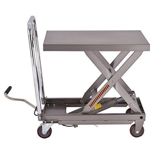 Hydraulic Dolly Lift : Best goplus hydraulic scissor lift table cart dolly