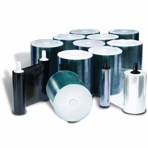 Rimage Everest 600/400 DVD-R Media Kit - 1,000 Rimage Professional Premium Powered by TY DVD-Rs (White Top), 1 Black Ribbon, 2 Retransfer Rolls
