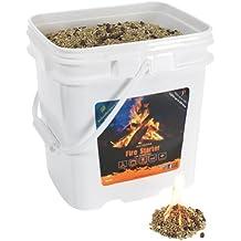 InstaFire Eco-Friendly Granulated Bulk Fire Starter, 4-Gallon Bucket