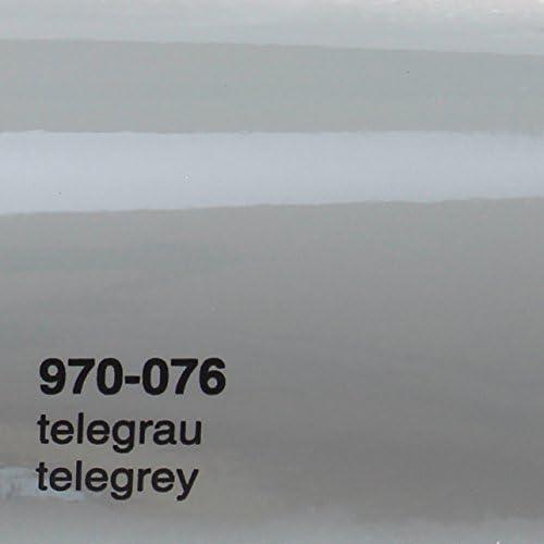 20 00 M Oracal 970ra 076 Telegrau Grau Glanz Gegossene Profi Autofolie 152cm Breit Blasenfrei Mit Luftkanäle Küche Haushalt