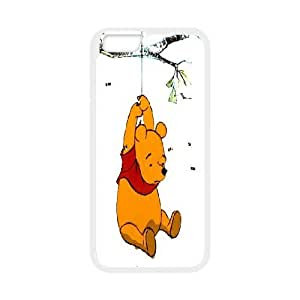 K-G-X Phone case For Apple Iphone 6 Plus 5.5 inch screen Cases Case-Pattern-6 Cute Bear Winnie Protective Back Case