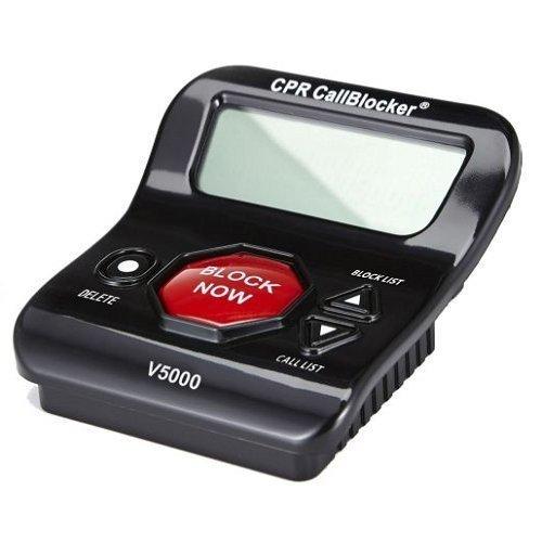 CPR V5000 - Bloqueur d'appels indésirables pour téléphone fixe - « STOP aux enquiquineurs ! » - capacité : 5000 numéros CPR Call Blocker