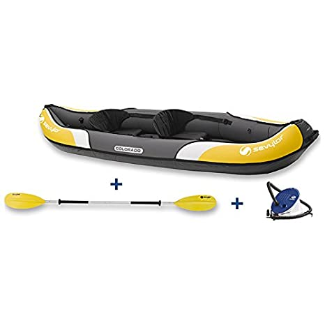 Sevylor Colorado Kayak Kit (2 persona), elevated Asientos ...
