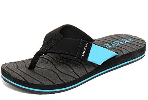 Cattior Heren Zomer Coole Slippers Slippers Strand Sandalen Blauw