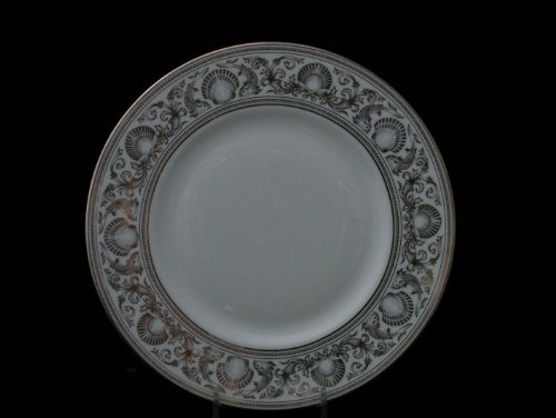Wedgwood England Dolphins Platinum Accent Plate