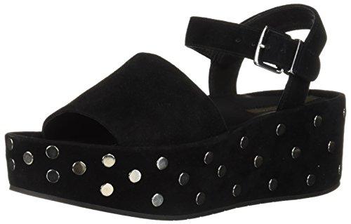 Kenneth Sandals Cole Suede (Kenneth Cole New York Women's Danton Studs Platform Sandal, Black Suede, 8.5 M US)