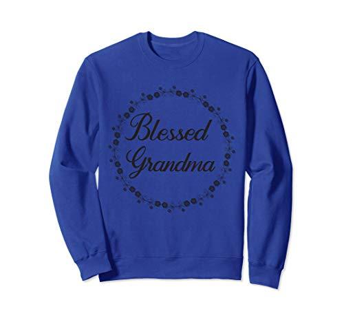 Blessed Grandma Floral Flower Vine Sweatshirt
