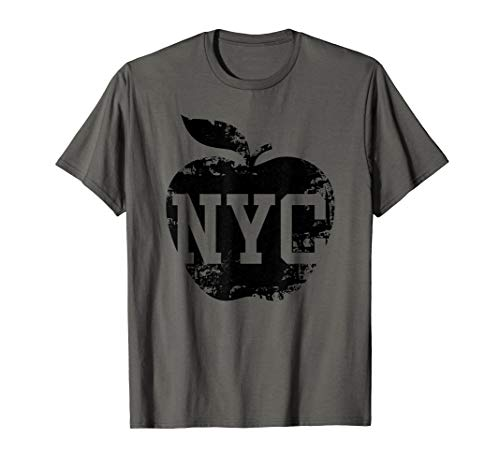 NYC New York City Shirt For Women, Men & Kids Cool Big Apple T-Shirt