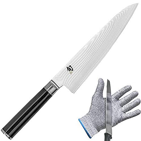 Amazon.com: Shun dm0760 Classic Cuchillo De Chef, 17,8 cm y ...
