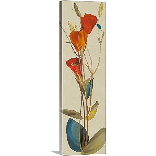 Red Grandiflorum II Canvas Wall Art Print, 12