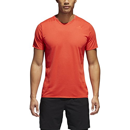 adidas Men's Supernova Tee - Color: High-Res Red Size: S (Res Colour High)