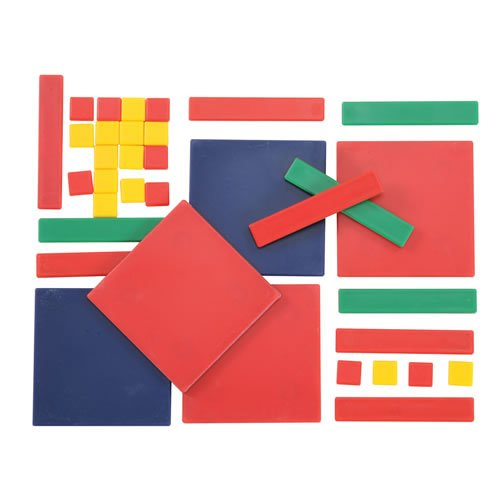 Overhead Algebra Tiles (Easyshapes Algebra Tiles (35 Pieces))