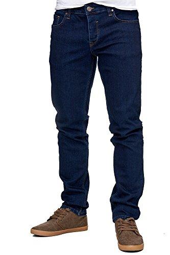 Hombre Vaquero x 32L Oscuro 33W Azul Reslad para YES07d