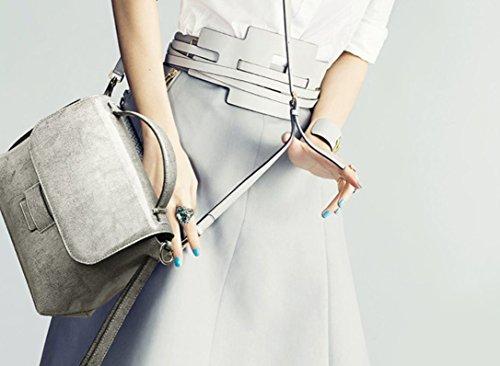 CUIYAN韓国のファッションバッグ春夏新しい牛革ハンドバッグ新しいレディースバッグジョーカーポータブルショルダースリング革バッグ