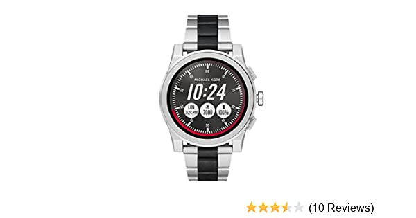 Amazon.com: Michael Kors Access, Mens Smartwatch, Grayson Two-Tone Stainless Steel, MKT5037: Watches