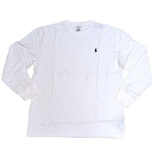 (Polo Ralph Lauren Men's Long Sleeve Pony Logo T-Shirt - XX-Large - White)