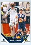 David Beckham trading card (England Soccer LA Galaxy) 2011 Upper Deck MLS #82
