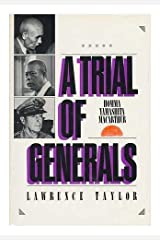 A Trial of Generals: Homma, Yamashita, Macarthur by Lawrence Taylor (1981-03-27) Hardcover