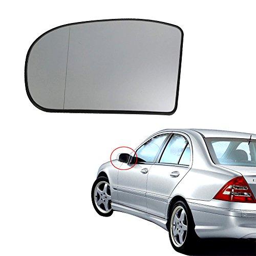 Left Heated Door Rearview Mirror Glass For Mercedes-Benz W211 W203 2038100121 Mercedes Door Mirror