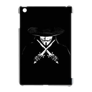 DIY Printed V for Vendetta hard plastic case skin cover For iPad Mini SNQ693619