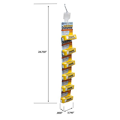 Dramamine Original 6 Package Display-4 Pre Loaded Clip Strips by Dramamine (Image #2)