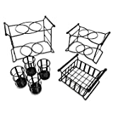 Bison Home Goods Stackable Buffet Caddy Organizer