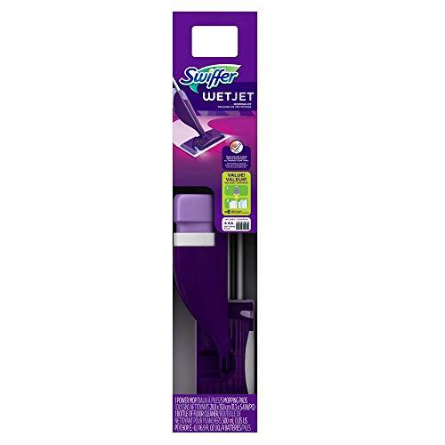 Swiffer WetJet Hardwood floor spray mop starter kit