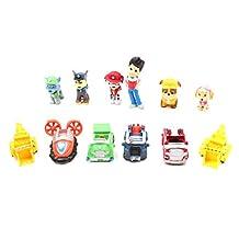Paw Patrol Figures S1 Toys Set 12 Pcs 4cm - 6cm