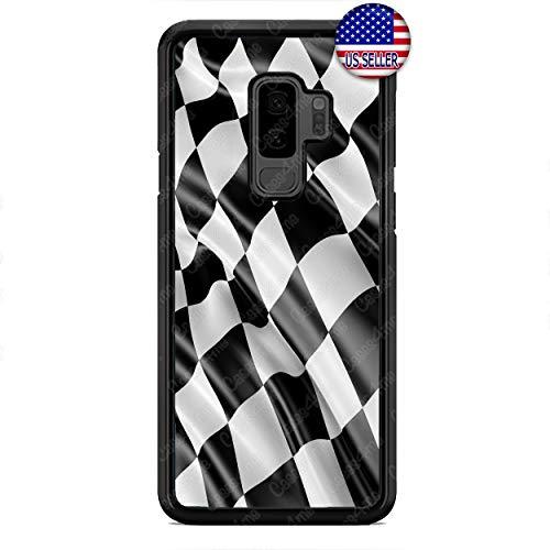 Checkerd Phone Case Formula Race Car Flag Custom Case Cover for Samsung Galaxy S10e S10 S10 Plus S9 S9 Plus S8 S8 Plus ()