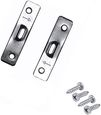 Framer Supply 2 Hole Heavy Duty Super Steel Picture & Mirror Hangers with #4 1/2