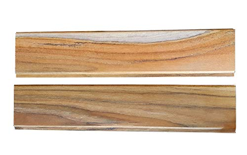 """TEAK WOOD 30"""" Long Tongue and Groove - one face all heartwood TEAK, COVERS 10 SQUARE FEET!"""