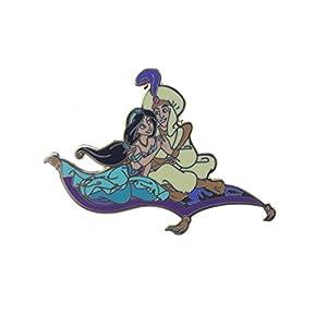 Disney Aladdin and Jasmine on Magic Carpet Pin, Small