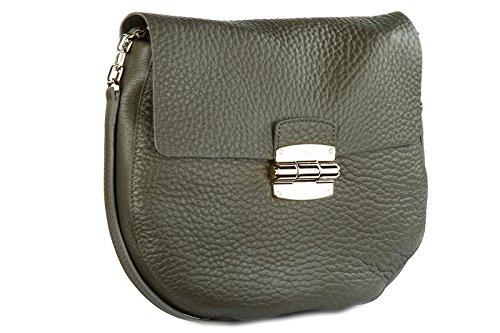 968231f502 ... Furla borsa donna a tracolla pelle borsello club bandoliera verde ...