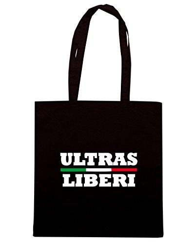 T-Shirtshock - Bolsa para la compra TUM0191 ultras hooligans Negro