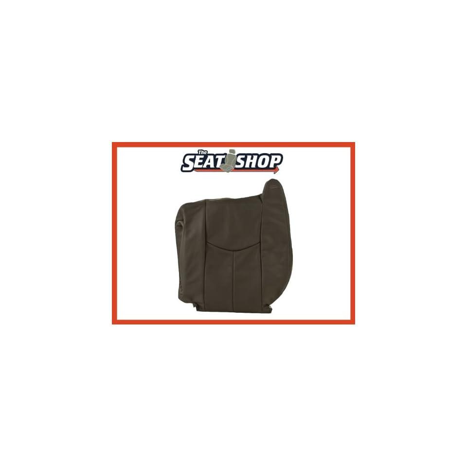 04 05 06 Chevy Silverado GMC Sierra Graphite Leather Seat Cover LH top